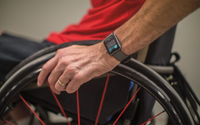 New Apple Watch features for wheelchair users