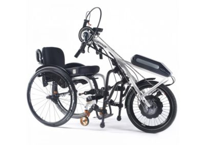 Quickie Life R compatible with the Attitude handbike series