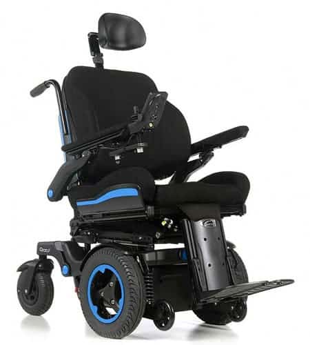 Quickie Q700 F front wheel drive wheelchair