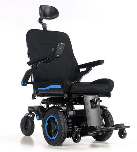 Quickie Q700-UP F front wheel drive wheelchair