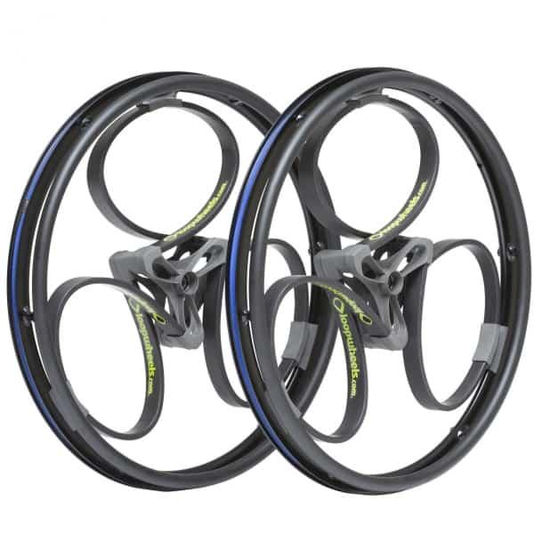 Loopwheels Black Wheelchair Wheels