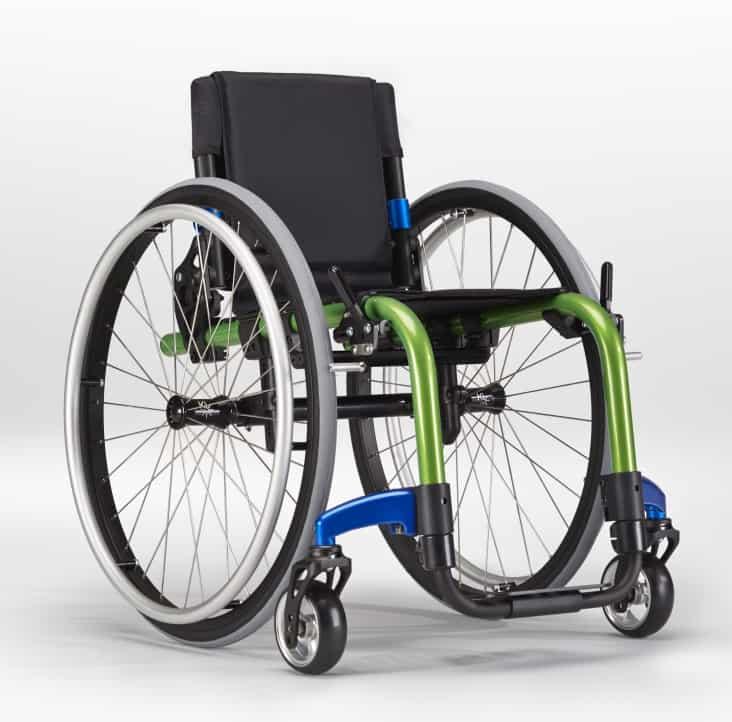 Ki Mobility Little Wave Click Wheelchair