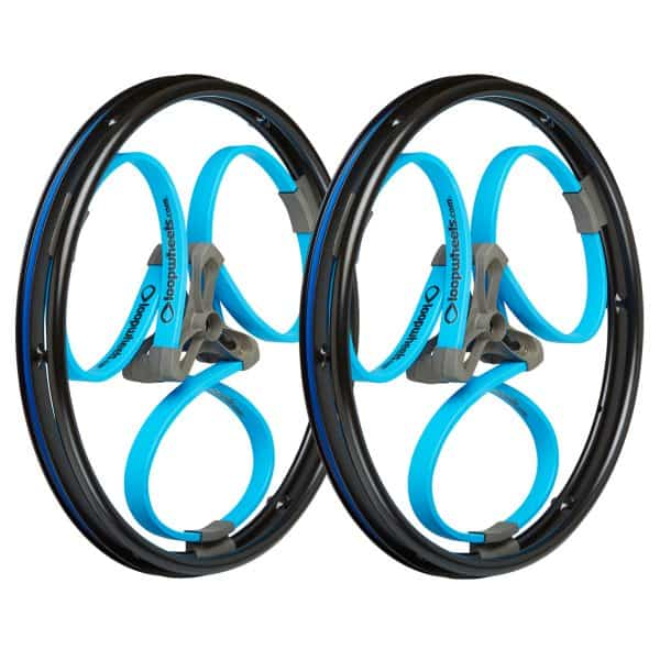 Wheelchair wheels to reduce vibration