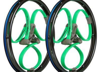 Loopwheels Green Wheelchair Wheels