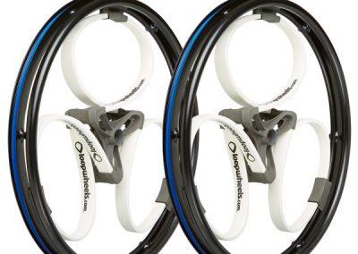 Loopwheels White Wheelchair Wheels