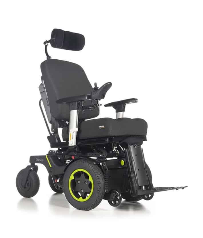 Quickie Q500 F front wheel drive wheelchair
