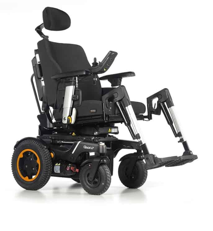 Quickie Q500R Rear Wheel Drive Wheelchair