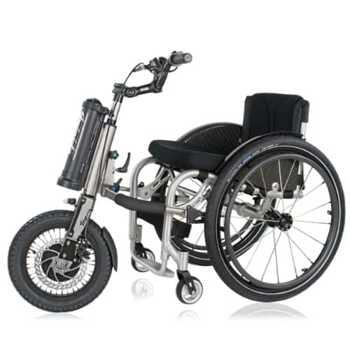 Triride Base Power Assist Trike for Manual Wheelchairs