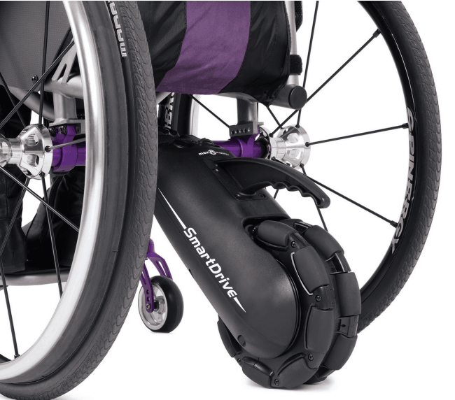 Smartdrive MX2+ Power Assist on Wheelchair