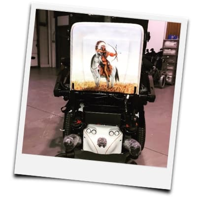 Customised Wheelchair Chassis